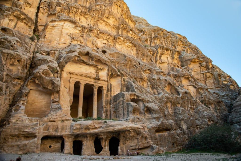 Little Petra while Spending 10 Days in Jordan