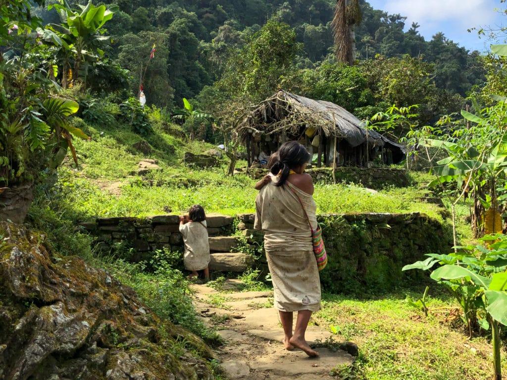 Shaman's Family and Living Quarters at Ciudad Perdida