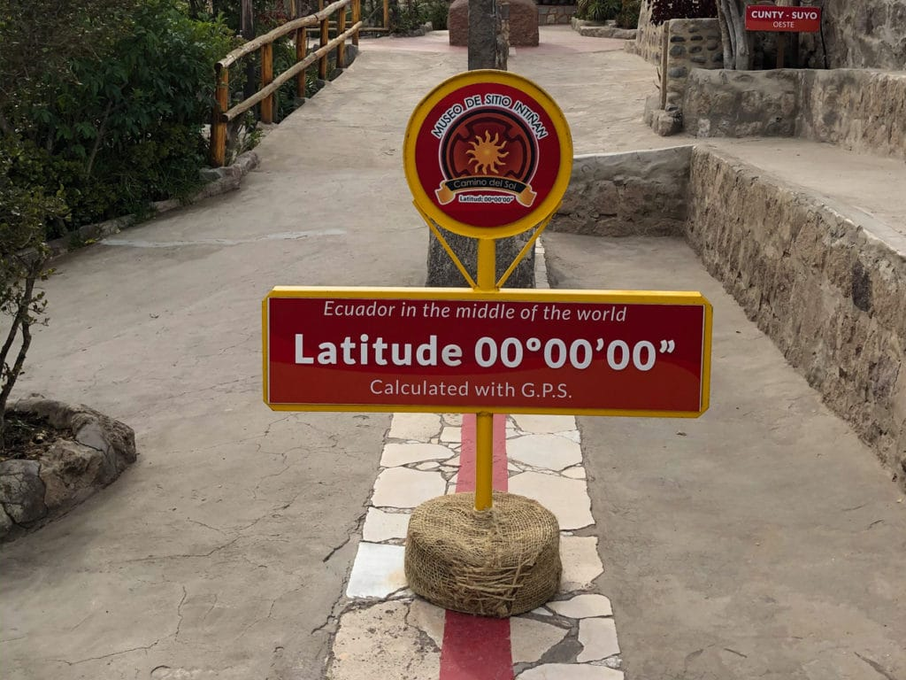 Middle of the World in Ecuador