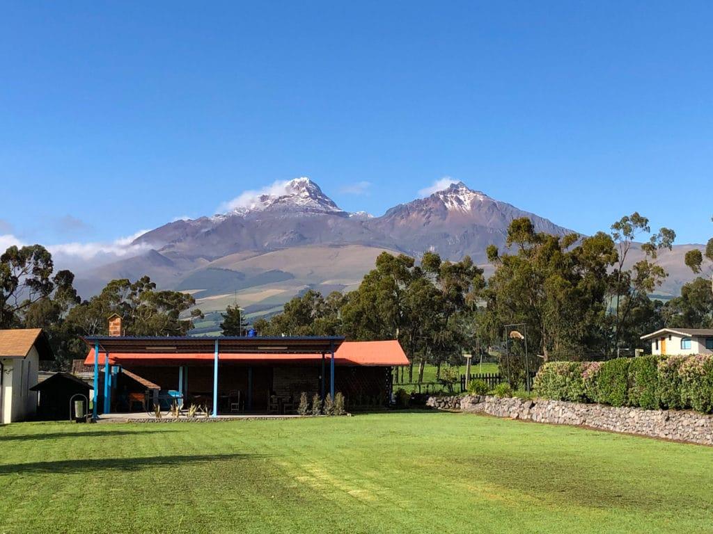 North and South Illiniza in Ecuador