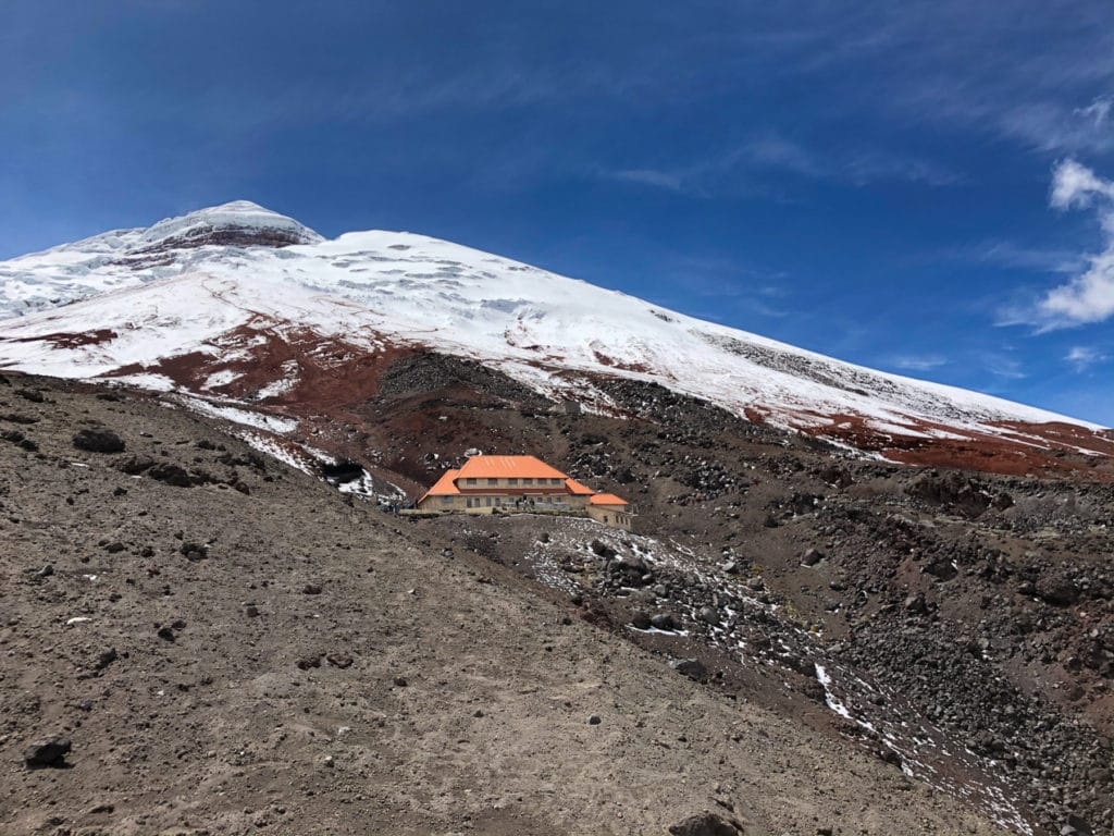 View of Cotopaxi's Summit
