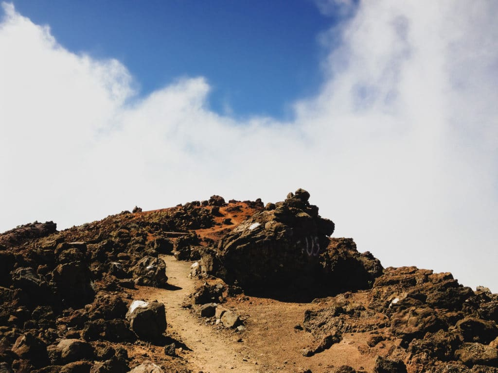 Hiking to the summit of Piton des Neiges in Reunion Island