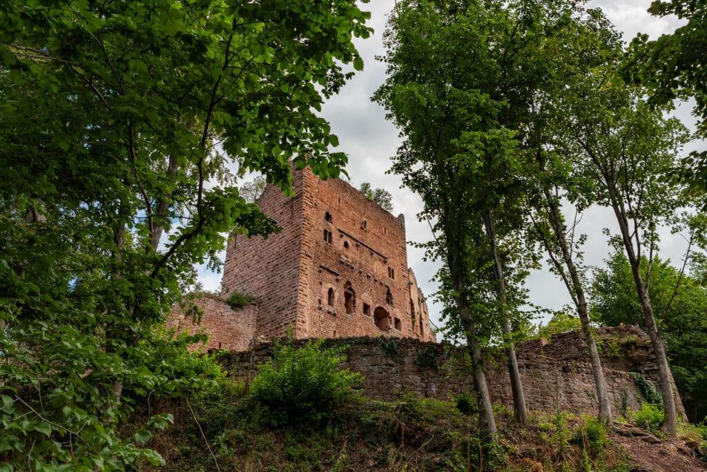 Château de Rathsamhausen de Rathsamhausen (Ottrott) in Alsace France