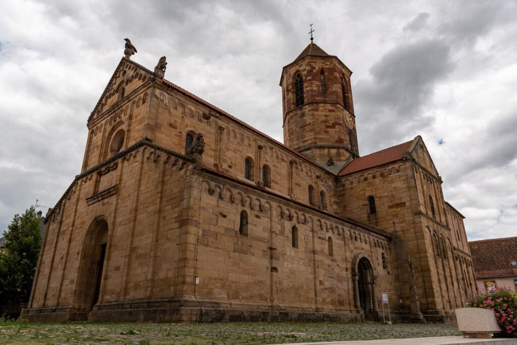 Saints Peter and Paul Cathedral in Rosheim Alsace France