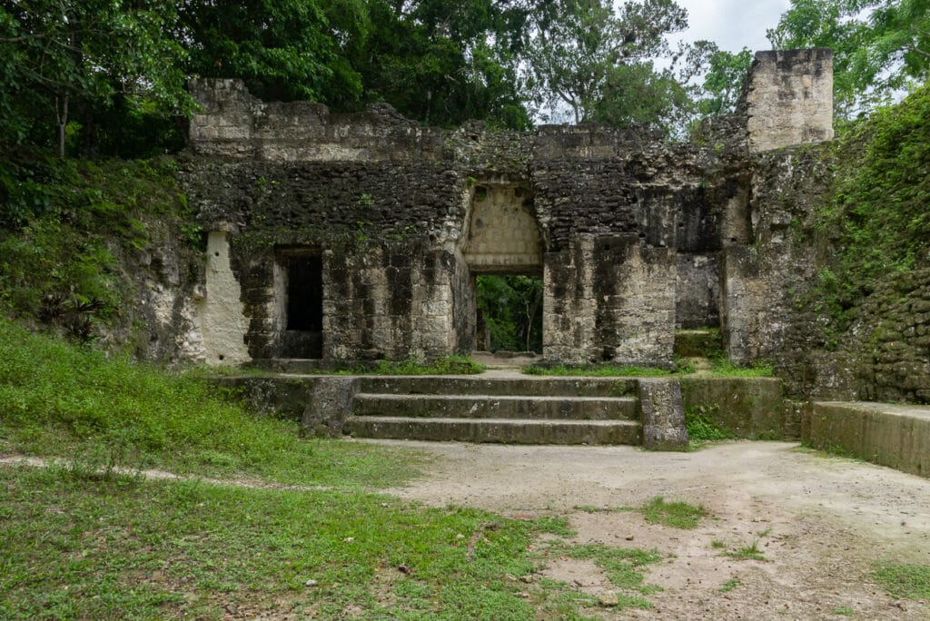 Ancient Ruins of Tikal while traveling in Guatemala