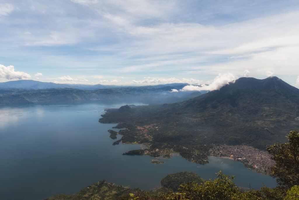 View from the Summit of Volcano San Pedro