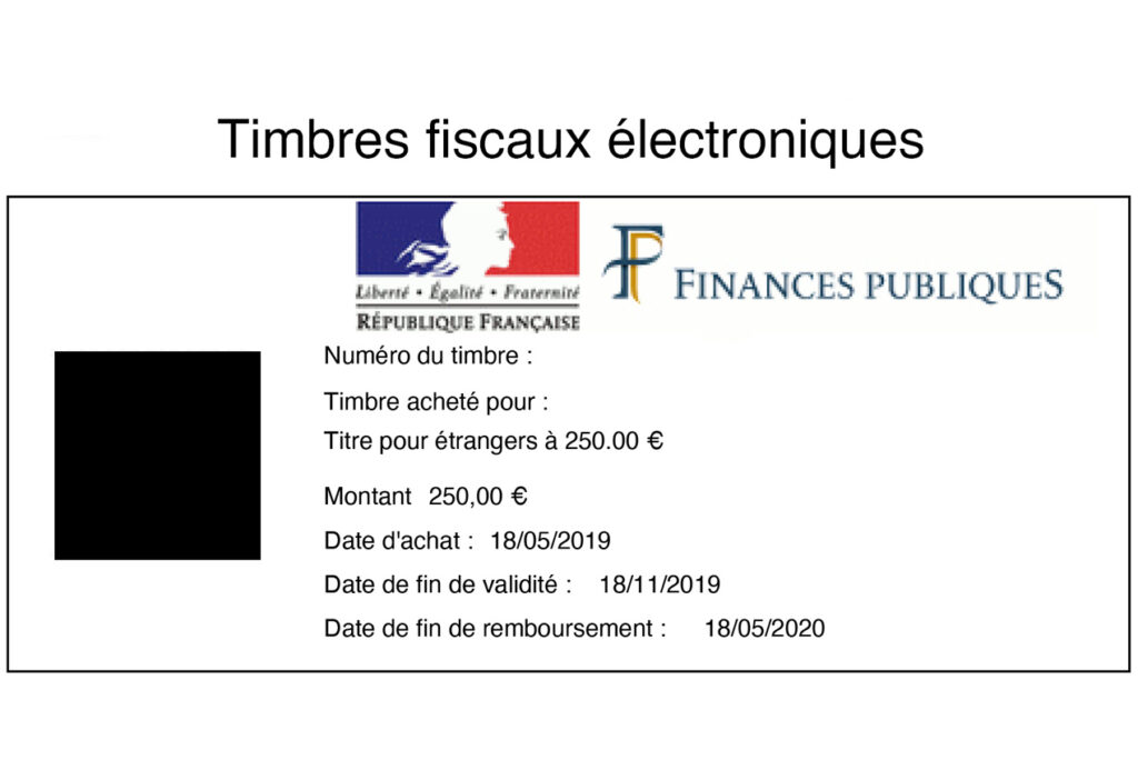 Example-of-an-Electronic-Timbre-for-a-Long-stay-French-Visa