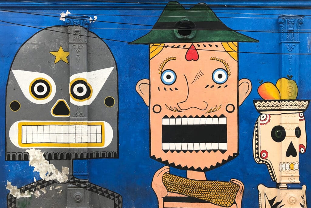 Best Places for Street Art in South America