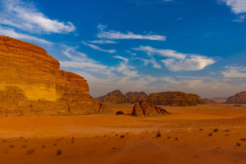 An Over-processed Photo of the Wadi Rum
