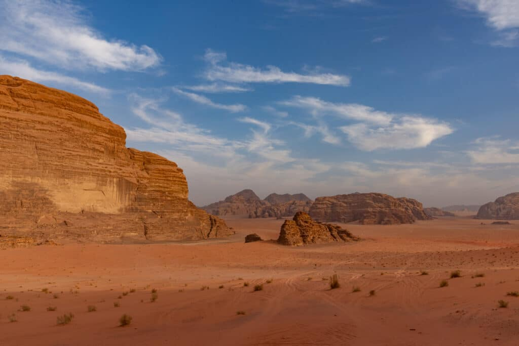 Correctly Processed Picture of the Wadi Rum