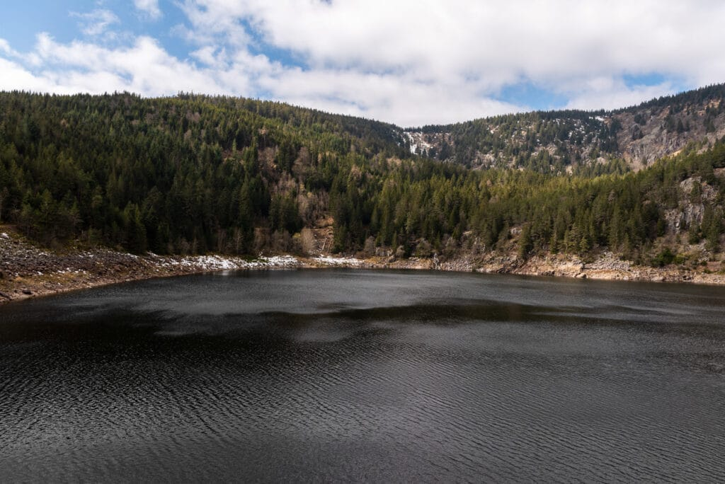 Panoramic View of Lac Noir