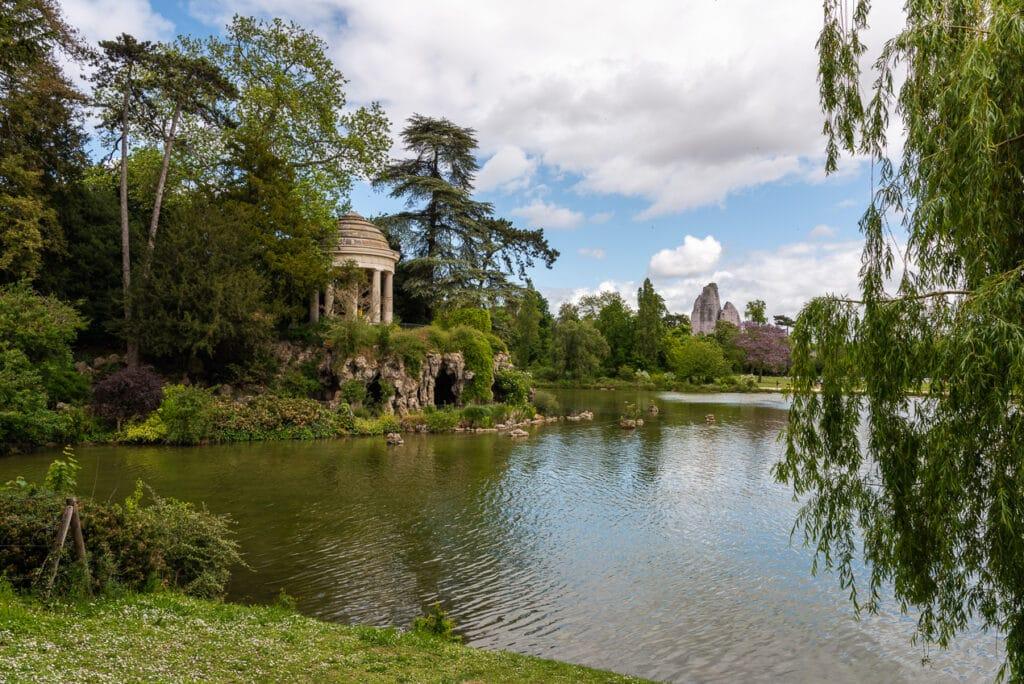 Panoramic View of Bois de Vincennes in Paris