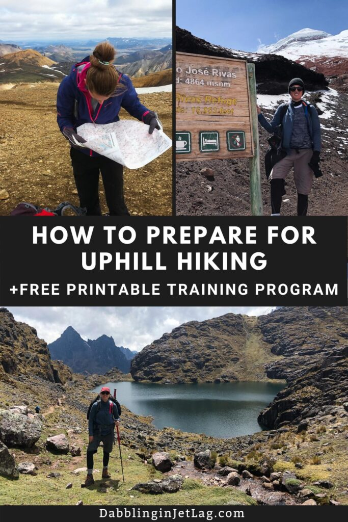 Which Exercise Helps Prepare for Uphill Hiking Pinterest C