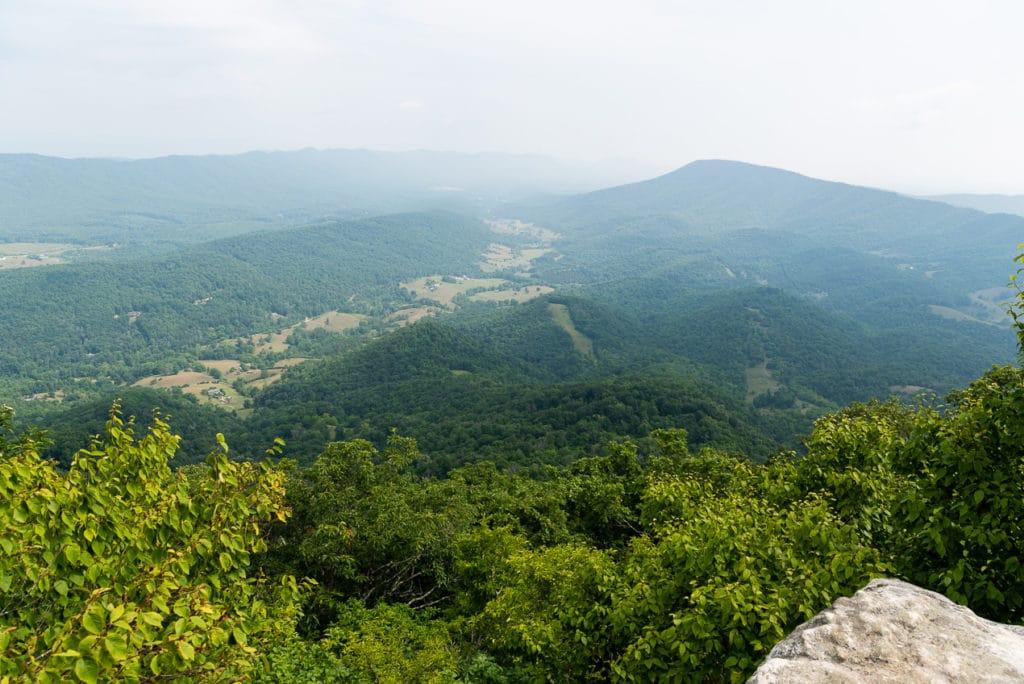 Panoramic Views from McAfee Knob