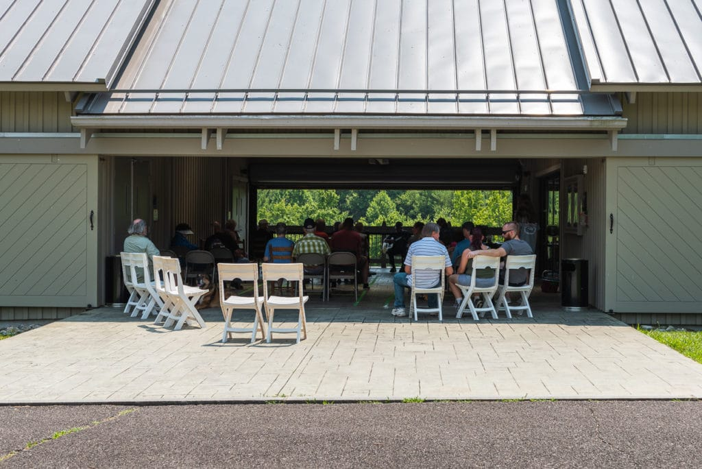 Midday Mountain Music at the Blue Ridge Music Center