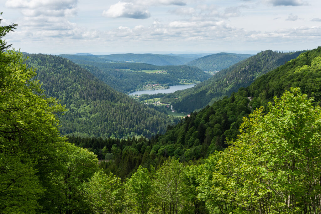 Panoramic View of Lac de Longemer