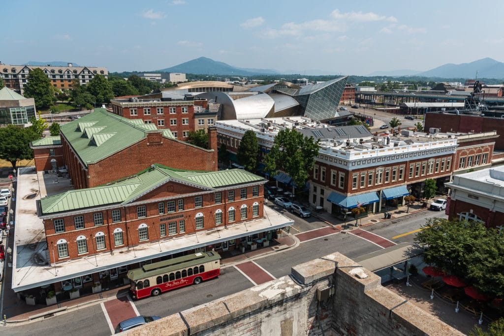 View of Roanoke Virginia