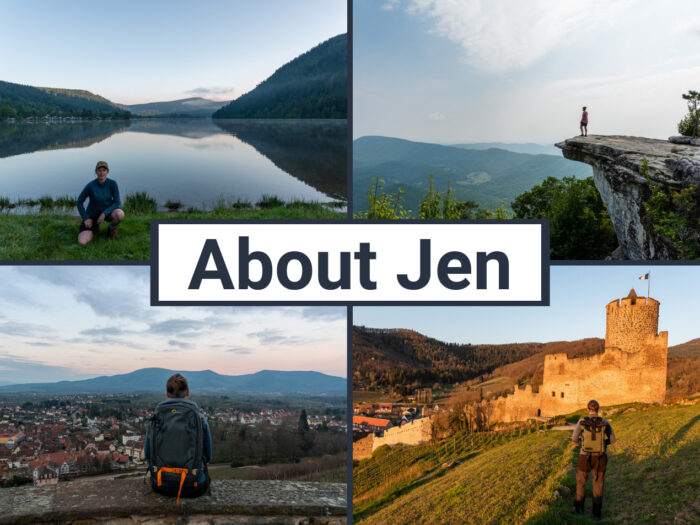 About Jen Ciesielski the author of Dabbling in Jet Lag
